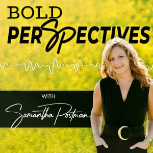 Bold perSpectives Podcast with Samantha Postman Cover Art